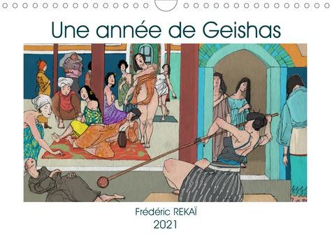 Une année de geishas. Un voyage graphique