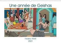 Frédéric Rekaï - Une année de geishas - Un voyage graphique.
