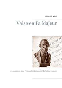 Micheline Cumant - Valse en Fa Majeur - Arrangement pour violoncelle et piano.