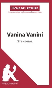 Dominique Coutant-Defer - Vanina Vanini de Stendhal - Fiche de lecture.