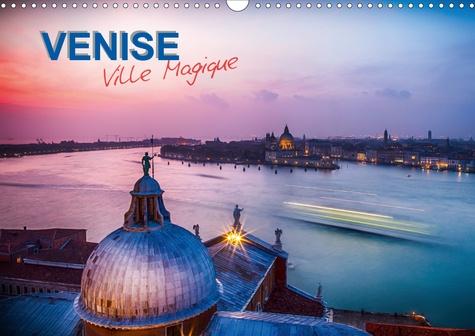 Venise - Ville Magique (Calendrier mural 2020 DIN A3 horizontal). Sélection de photographies de Venise en longue exposition. (Calendrier mensuel, 14 Pages )