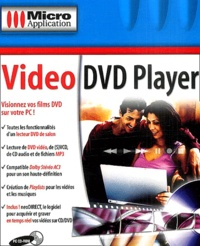 Editions Micro Application - Video DVD Player - CD-ROM.
