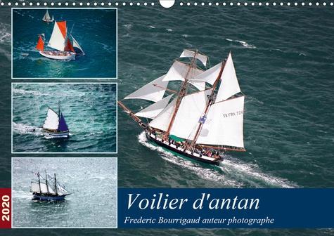 Voiliers d'antan (Calendrier mural 2020 DIN A3 horizontal). Photos aériennes d'anciens voiliers (Calendrier mensuel, 14 Pages )