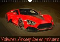 K.a. Sudpastel - Voitures d'exception en peinture (Calendrier mural 2020 DIN A4 horizontal) - Série de 12 peintures représentant une sélection parmi les plus belles automobiles sportives actuelles. (Calendrier mensuel, 14 Pages ).