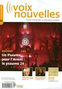 Michel Corsi et Jean-Claude Crivelli - Voix nouvelles N° 46, Septembre-oct : Un Psaume pour l'avent : le psaume 24. 1 CD audio