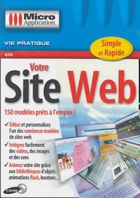 Editions Micro Application - Votre site Web - CD-ROM.