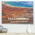 Michel Denis - Yellowstone Un grand parc américain(Premium, hochwertiger DIN A2 Wandkalender 2020, Kunstdruck in Hochglanz) - Le Parc National de Yellowstone est situé dans le Wyoming aux Etats Unis.Il a été le premier parc national au monde, créé en 1872. Ses phénomènes géothermiques lui ont donné une renommée mondiale méritée.. (Calendrier mensuel, 14 Pages ).