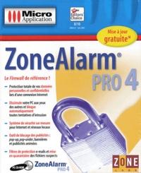 Editions Micro Application - ZoneAlarm Pro 4 - CD-ROM.