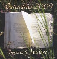 Soeurs de Saint-Jean - Calendrier Croyez en la lumière 2009.