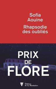 Sofia Aouine - Rhapsodie des oubliés.