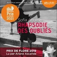Sofia Aouine - Rhapsodie des oubliés - Suivi d'un entretien avec l'auteur.