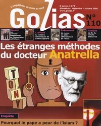 Christian Terras - Golias Magazine N° 110, Septembre-Oc : Les étranges méthodes du docteur Anatrella.