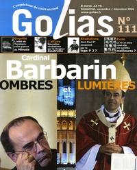 Christian Terras - Golias Magazine N° 111, Novembre-Déc : Cardinal Barbarin entre ombres et lumières.
