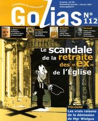 """Christian Terras - Golias Magazine N° 112, Janvier-Févr : Le scandale de la retraite des """"ex"""" de l'Eglise."""