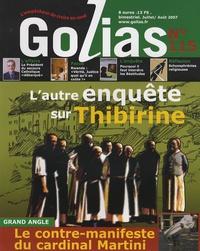 Jean-François Soffray et Christian Terras - Golias Magazine N° 115, Juillet-Août : L'autre enquête sur Thibirine.