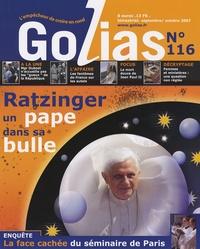 Christian Terras et Ana Gan - Golias Magazine N° 116, Septembre-oc : Ratzinger - Un pape dans sa bulle.