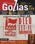 Christian Terras - Golias Magazine N° 119, Mars-Avril 2 : Les chrétiens et Mai 68 - Dieu est-il conservateur ?.
