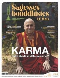 Philippe Judenne - Sagesses bouddhistes  : Karma - Entre liberté et déterminisme ?.