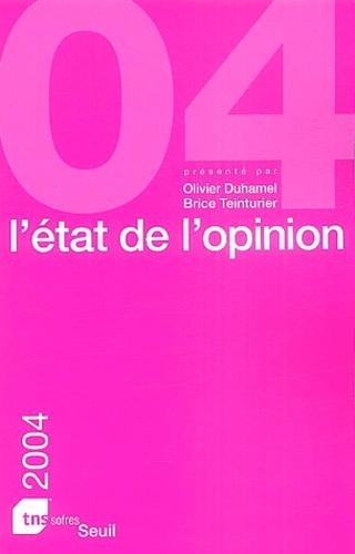 SOFRES - L'état de l'opinion.
