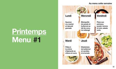 En 1H je cuisine pour toute la semaine, 10 semaines de menus. Spécial étudiant, 50 recettes inratables
