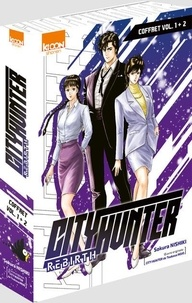 Sokura Nishiki et Tsukasa Hojo - City Hunter Rebirth Tomes 1 et 2 : Pack en 2 volumes dont 1 offert.