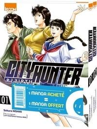 Sokura Nishiki - City Hunter Rebirth Tomes 1 et 2 : Pack en 2 volumes dont un offert.