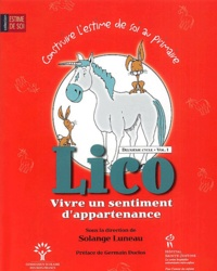 Solange Luneau - Lico, Vivre un sentiment d'appartenance - Deuxième cycle, Volume 1.