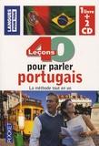 Solange Parvaux - 40 leçons pour parler portugais - La méthode tout en un. 2 CD audio