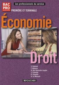 Solange Ramond - Economie Droit 1e et Tle Bac Pro.