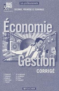 Solange Ramond - Economie Gestion Bac Pro 3 ans industriels - Guide pédagogique.