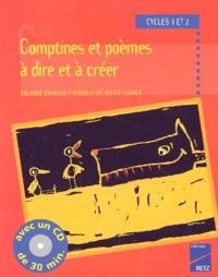 Comptines et poèmes à dire et à créer cycles 1 et 2. Avec CD audio.pdf