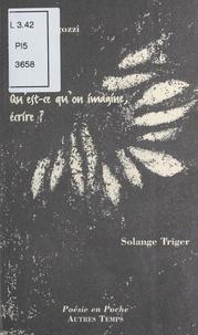 Solange Triger et Marcel Migozzi - .