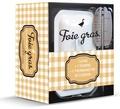 Solar - Coffret foie gras - Avec 1 terrine et 1 thermomètre de cuisson.