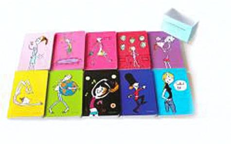 Soledad - 10 Petits carnets des paresseuses pour tout noter, partout, tout le temps.