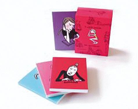 Soledad Bravi - 4 petits carnets des paresseuses.