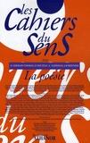 Olivier Germain-Thomas et Jean-Yves Reuzeau - Les cahiers du sens N° 20/2010 : La poésie.