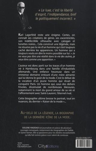 Karl Lagerfeld. Le dernier empereur