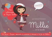 Solenne Fonteneau - Millie... et la mode - Mes coloriages et Paper dolls.