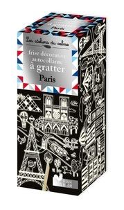 Solenne et  Thomas - Frise décorative autocollante à gratter Paris.