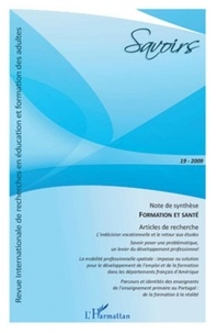 Solveig Fernagu-Oudet - Savoirs N° 19, 2009 : Formation et Santé.