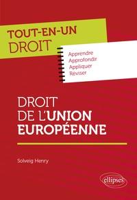 Solveig Henry - Droit de l'Union européenne.