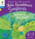 Songbirds Phonics. Where is the Snail & Other Stories.