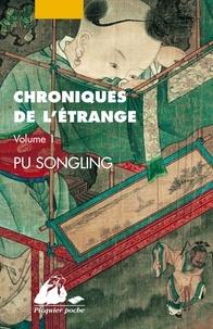 Songling Pu - Chroniques de l'étrange Tome 1 : .