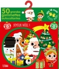 Sonia Baretti - Joyeux Noël - 50 grandes gommettes autocollantes.
