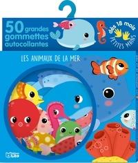 Sonia Baretti - Les animaux de la mer - 50 grandes gommettes autocollantes.
