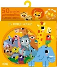 Sonia Baretti - Les animaux sauvages - 50 grandes gommettes autocollantes.