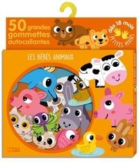 Sonia Baretti - Les bébés animaux - 50 grandes gommettes autocollantes.