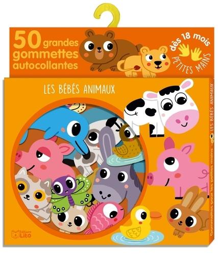 Les bébés animaux. 50 grandes gommettes autocollantes