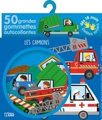 Sonia Baretti - Les camions - 50 grandes gommettes autocollantes.