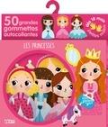 Sonia Baretti - Les princesses - 50 grandes gommettes autocollantes.